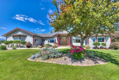 Ravalli County Single Family Home For Sale: 3285 Eastside Highway