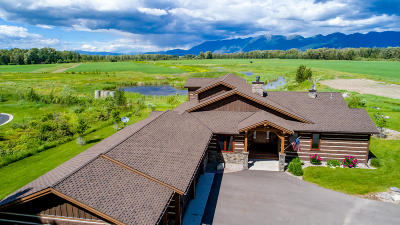 Kalispell MT Single Family Home For Sale: $1,345,000