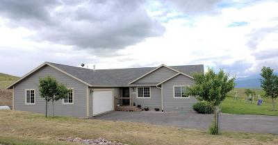 Missoula Single Family Home For Sale: 13050 Bunchgrass Lane