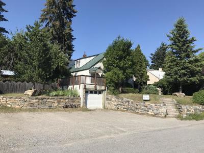 Thompson Falls Single Family Home For Sale: 112 Preston Avenue