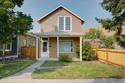 Missoula Single Family Home For Sale: 510 North 3rd Street West