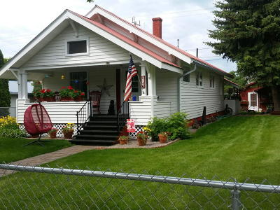 Kalispell MT Single Family Home For Sale: $258,500