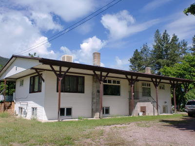 Missoula County Single Family Home For Sale: 20579 East Mullan Road