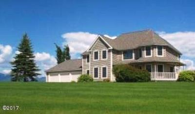 Flathead County Single Family Home For Sale: 655 Farm Road