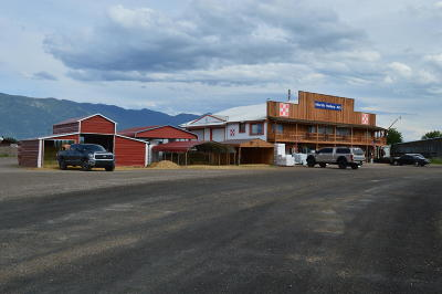 Columbia Falls Commercial For Sale: 5613 Us Highway 2 West