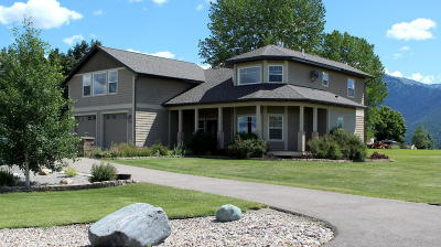 Kalispell Single Family Home Under Contract Taking Back-Up : 1157 Foxtail Drive