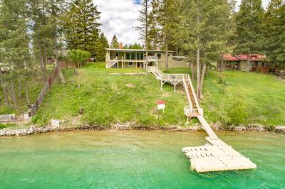 Lincoln County Single Family Home For Sale: 595 Trego Road