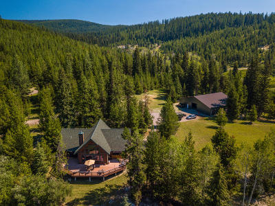 Whitefish Single Family Home For Sale: 5150 Star Meadows Road