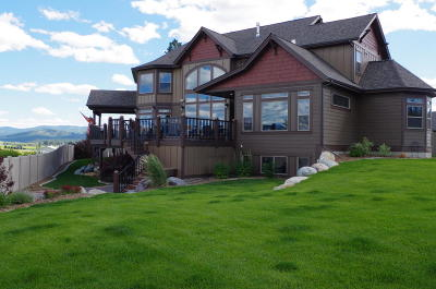 Kalispell Single Family Home Under Contract Taking Back-Up : 1875 Old Reserve Drive