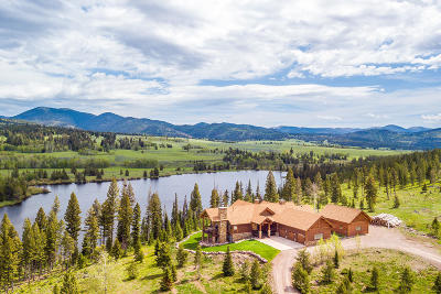 Single Family Home For Sale: Private Lake Mt