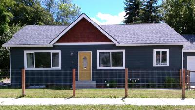 Kalispell Single Family Home Under Contract Taking Back-Up : 334 13th Street East