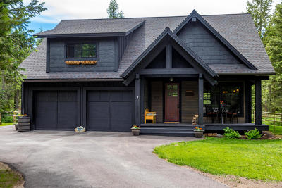 Whitefish Single Family Home For Sale: 140 Timbered Terrace