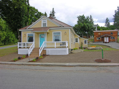 Thompson Falls Single Family Home Under Contract Taking Back-Up : 322 West Preston Avenue