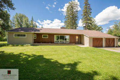 Kalispell Single Family Home For Sale: 120 Westwood Lane