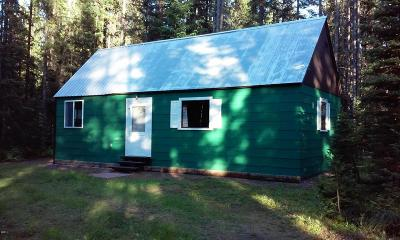 Flathead County Single Family Home Under Contract Taking Back-Up : 14354 Us Highway 2 East