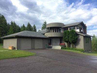 Whitefish Single Family Home Under Contract Taking Back-Up : 5050 Whitefish Stage Road