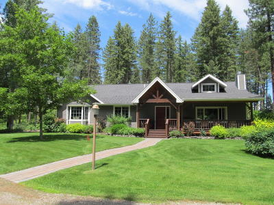 Kalispell Single Family Home Under Contract Taking Back-Up : 1075 Glacier Stage Lane