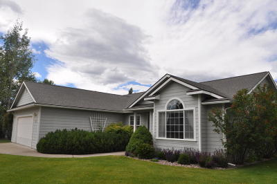 Kalispell Single Family Home Under Contract Taking Back-Up : 19 Velva Drive