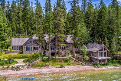Seeley Lake Single Family Home Under Contract Taking Back-Up : 855 Enchanted Forest Placid Lake Road