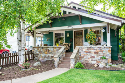 Whitefish Single Family Home For Sale: 525 Columbia Avenue