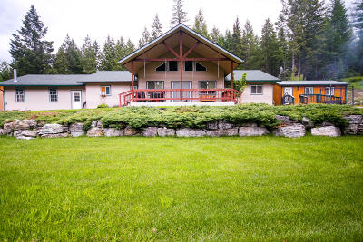 Flathead County Single Family Home For Sale: 1150 Patrick Creek Road