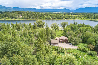 Whitefish Single Family Home For Sale: 395 Blanchard Lake Drive