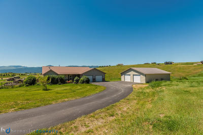 Missoula Single Family Home Under Contract Taking Back-Up : 10987 Tookie Trek Road