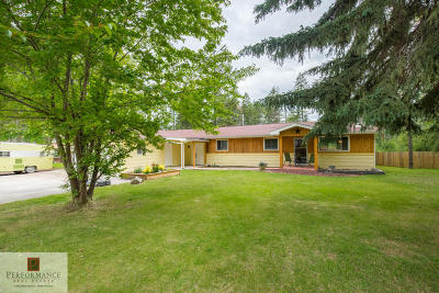 Whitefish Single Family Home For Sale: 230 Cougar Trail