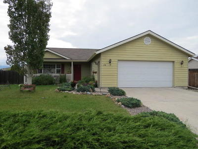 Kalispell Single Family Home Under Contract Taking Back-Up : 190 Blue Crest Drive