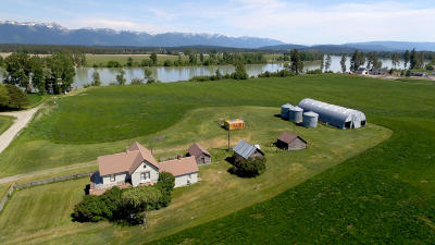 Kalispell Single Family Home For Sale: 284 Therriault Road