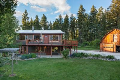 Columbia Falls Single Family Home Under Contract Taking Back-Up : 700 Mooring Road