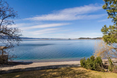 Bigfork Single Family Home Under Contract Taking Back-Up : 374 Flathead Lake Lodge Road