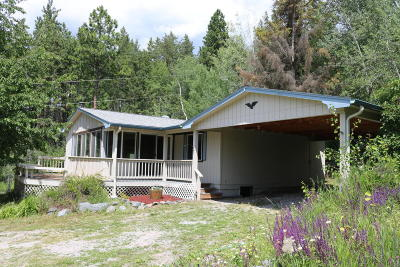 Flathead County Single Family Home For Sale: 9240 Mt Highway 35