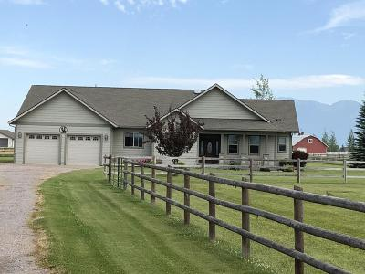Kalispell Single Family Home Under Contract Taking Back-Up : 142 Farmland Acres Drive