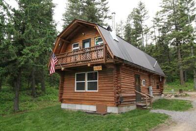 Alberton, Bonner, Clinton, Florence, Frenchtown, Greenough, Huson, Lolo, Missoula, Potomac Single Family Home For Sale: 1088 Grizzly Mountain Road