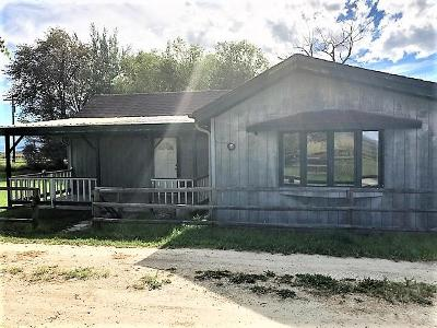 Stevensville Single Family Home Under Contract Taking Back-Up : 1164 North Sunset Bench Road