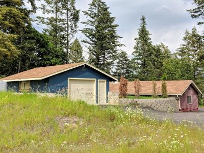 Whitefish Single Family Home For Sale: 4725 Us Highway 93 South