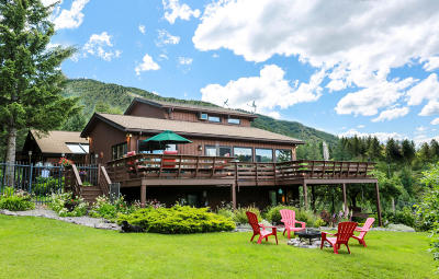 Missoula Single Family Home For Sale: 2830 Mitten Mountain Road