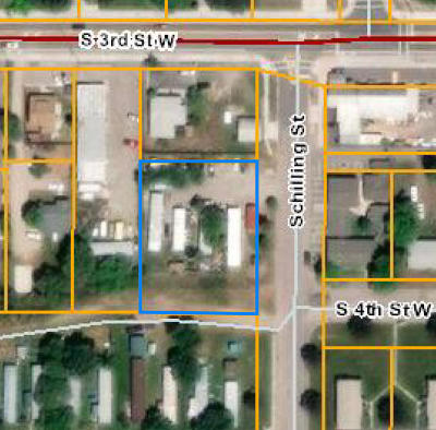 Missoula Residential Lots & Land For Sale: 2201 South 3rd Street West