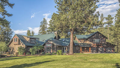 Missoula Single Family Home For Sale: 5003 Pattee Canyon Road