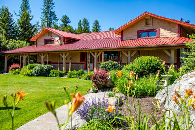 Flathead County Single Family Home For Sale: 5492 Us Highway 93 West