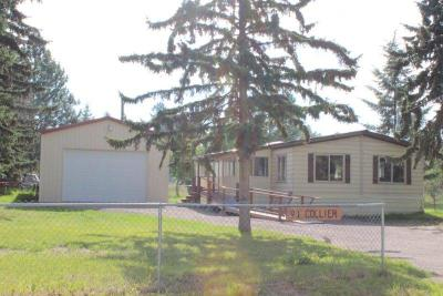 Kalispell Single Family Home Under Contract Taking Back-Up : 91 Collier Lane