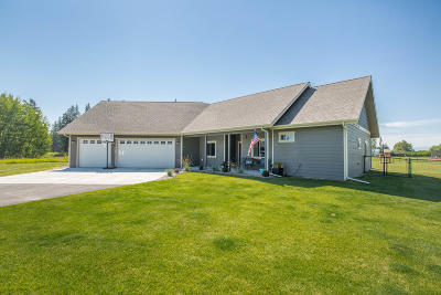 Kalispell Single Family Home For Sale: 100 Whispering Meadows Trail