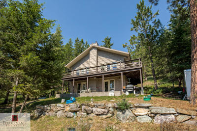 Flathead County Single Family Home For Sale: 831 Tranquil Valley Trail