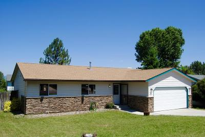 Missoula Single Family Home Under Contract Taking Back-Up : 206 Rita Court