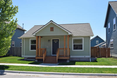 Missoula Single Family Home Under Contract with Bump Claus: 4253 Muggle Lane