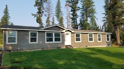 Bigfork Single Family Home Under Contract Taking Back-Up : 3280 Mt Highway 83