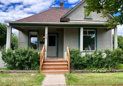 Kalispell Single Family Home Under Contract Taking Back-Up : 429 1st Street West