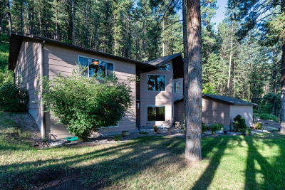 Missoula Single Family Home For Sale: 1219 Big Flat Road