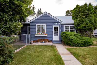 Columbia Falls Single Family Home For Sale: 155 1st Street West